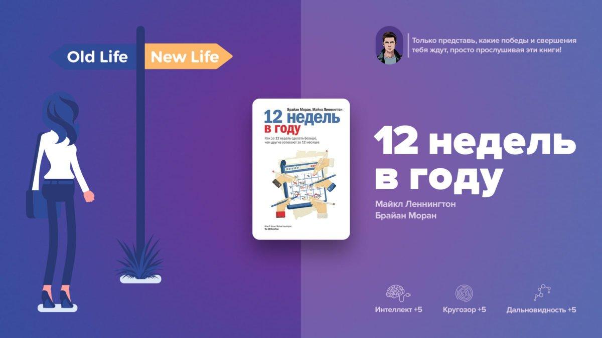 9 выводов из книги «12 недель в году. Как за 12 недель сделать больше, чем другие успевают за 12 месяцев»